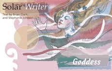 Solar Writer Goddess